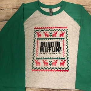 Shirts - Dunder Mufflin Office Christmas tee